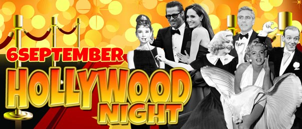 Saturday 6 September Hollywood Night!!!$25pp unlimited bowling.