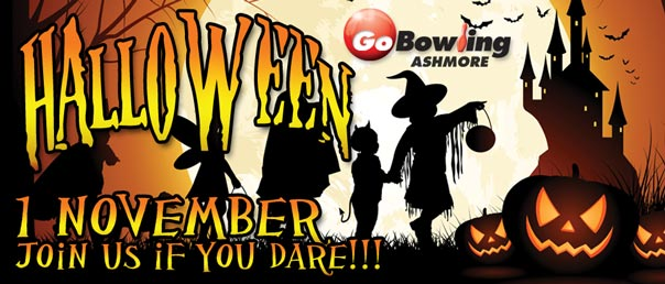 Halloween 1 November prices from $15pp unlimited bowling.